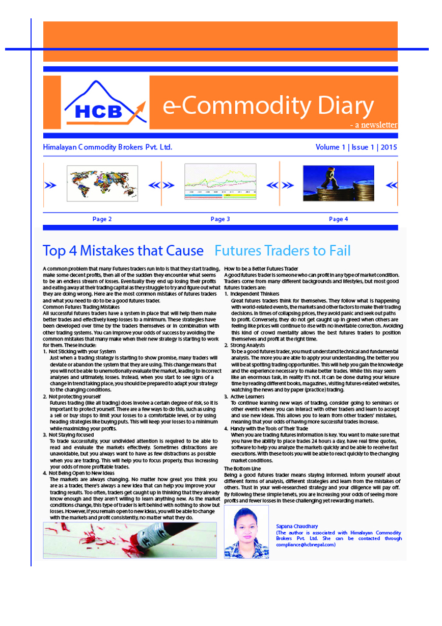 Himalayan commodity brokers nepal